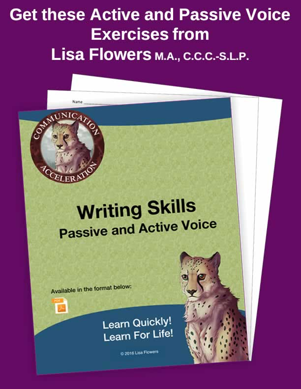 Writing Skills: Passive and Active Voice