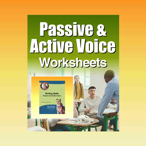 Passive and Active Voice Exercises in PDF