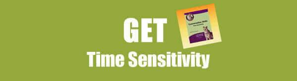 Get Communication Skills: Time Sensitivity Worksheet in PDF