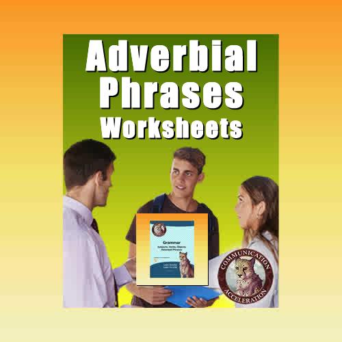 Adverb Worksheets in PDF