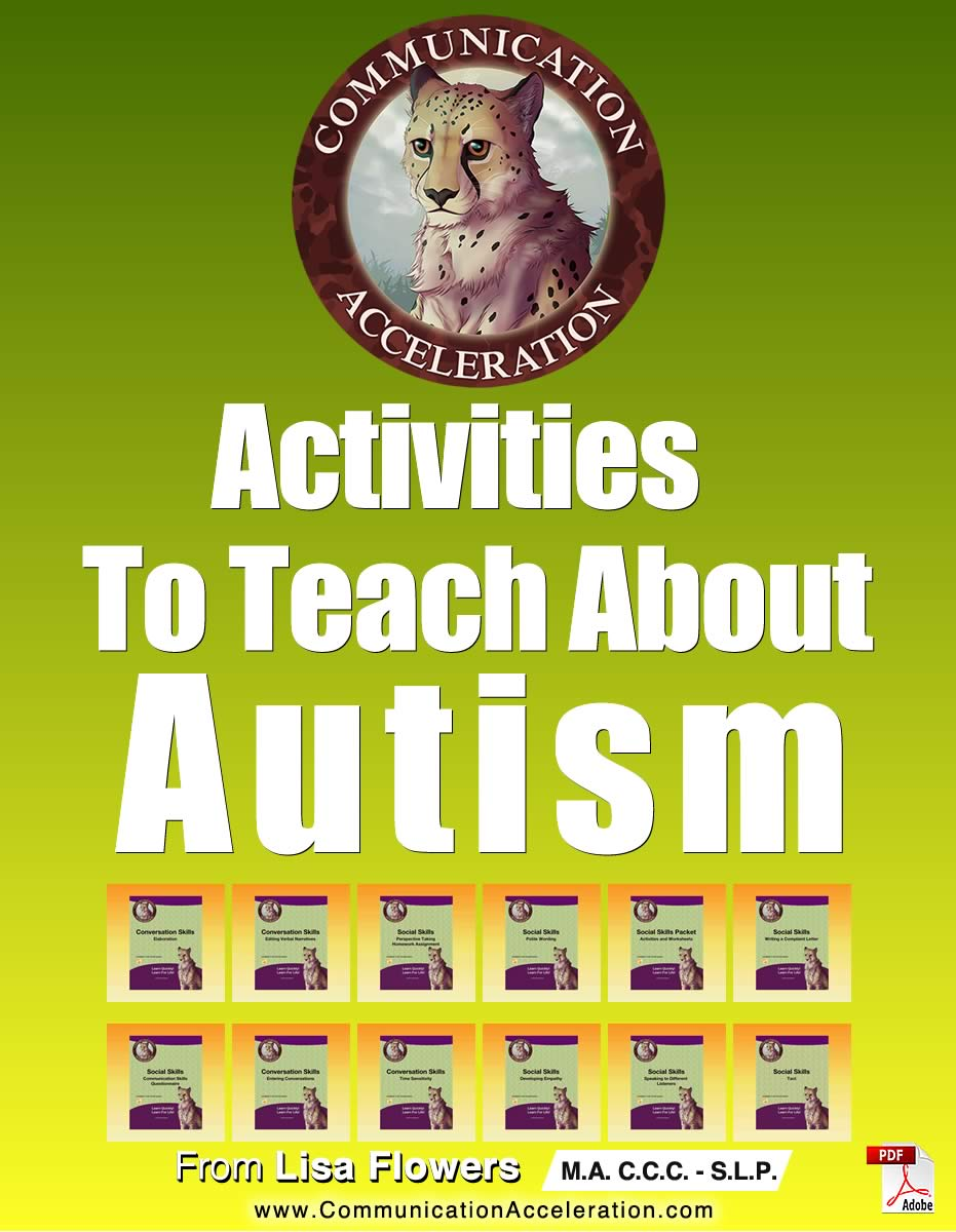 Activities to Teach About Autism