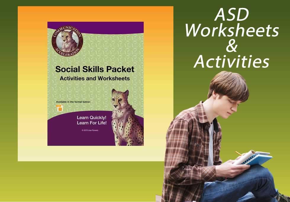Autism teaching strategies worksheets and activities PDF
