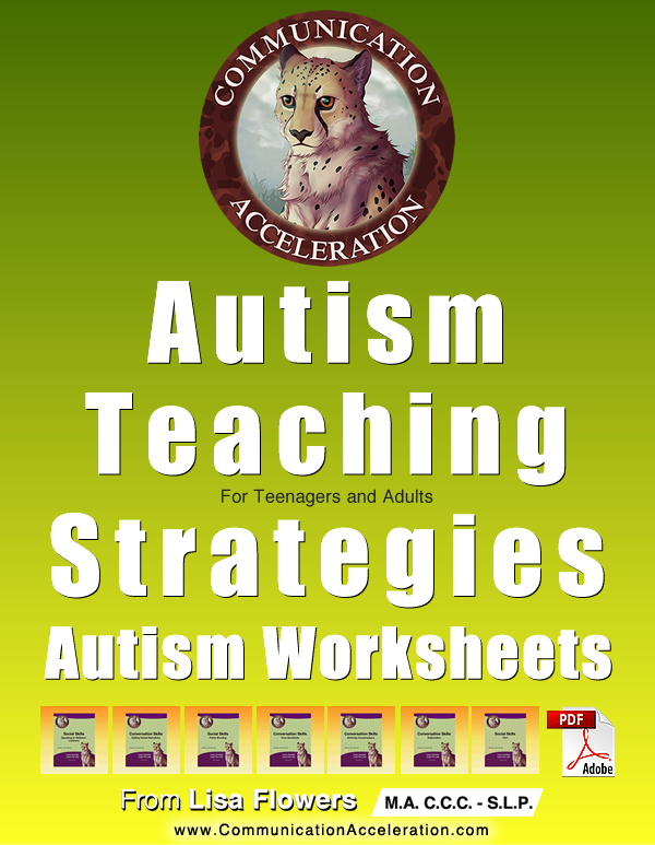 High Functioning Autism Worksheets