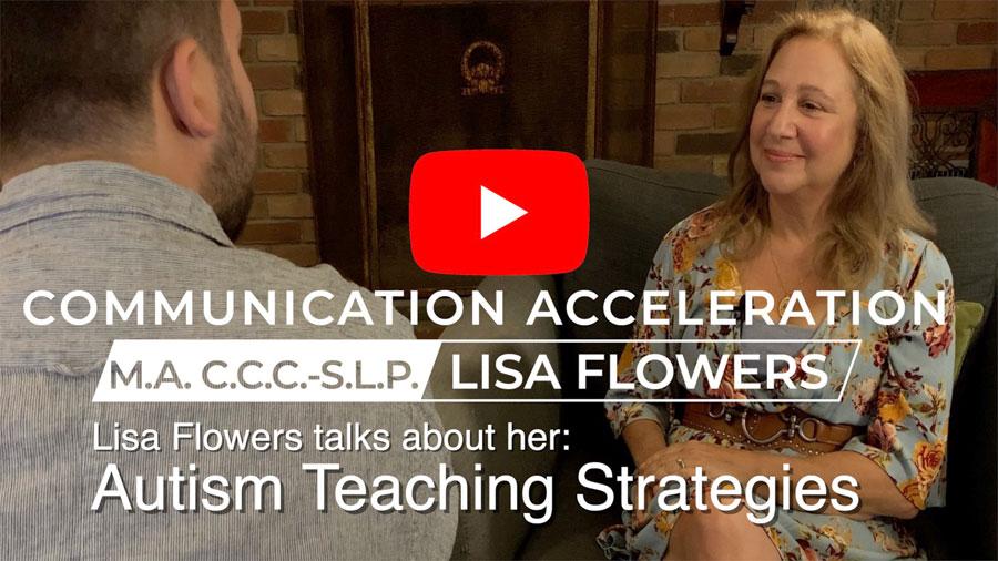 Lisa Flowers talks about her autism teaching strategies worksheets