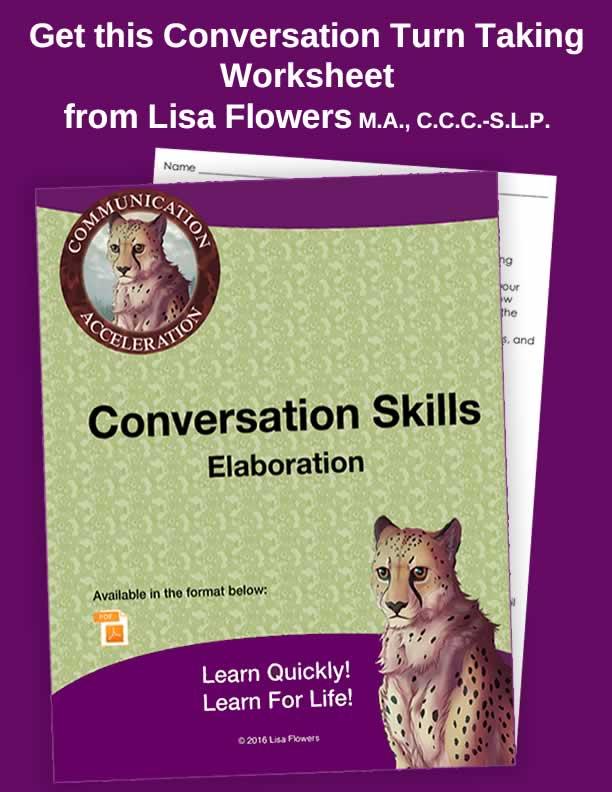 Conversation Turn Taking Activities in PDF