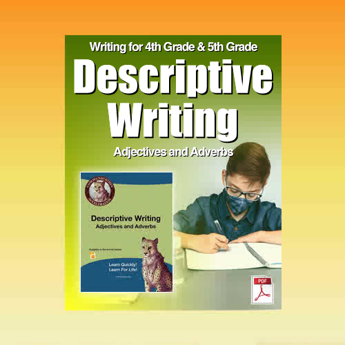 Descriptive Writing Worksheets in PDF