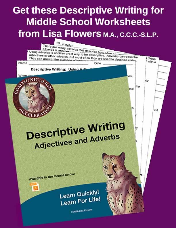 Descriptive Writing: Adjectives and Adverbs