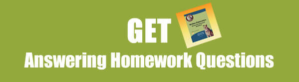 Get Written Elaboration: Answering Homework Questions