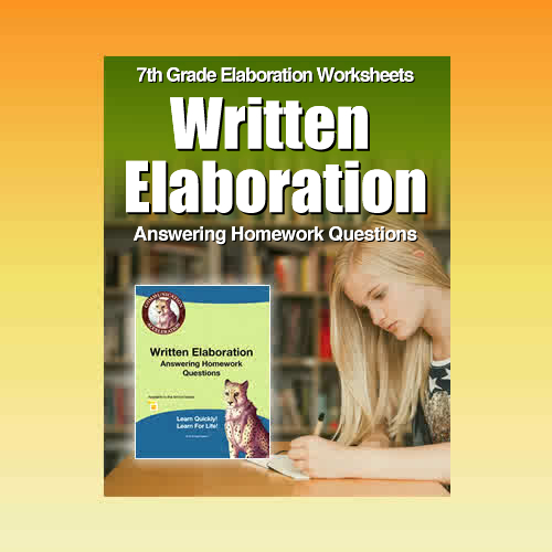 Written Elaboration: Answering Homework Questions