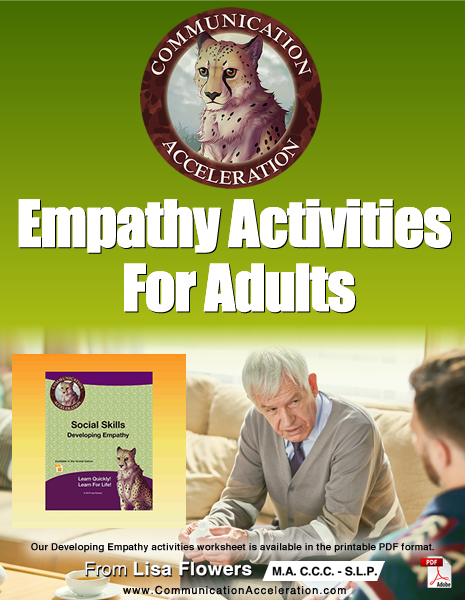 Empathy Activities Worksheets for Adults