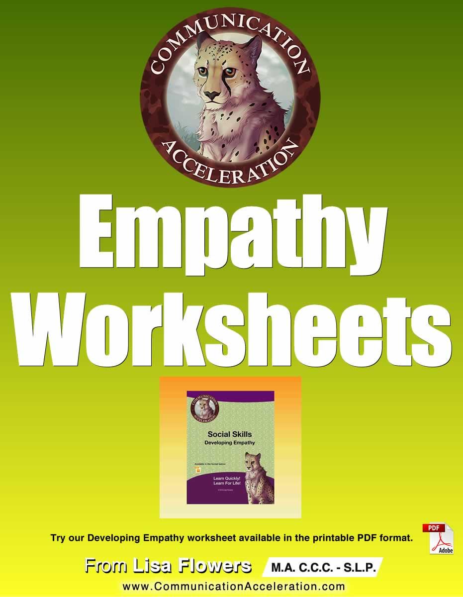 Empathy Worksheets