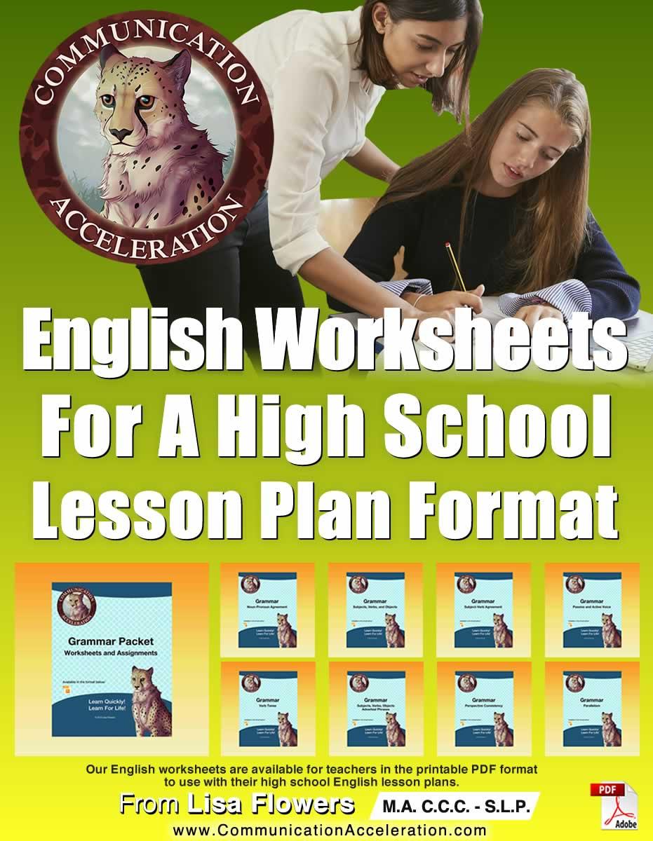Lesson Plan Materials