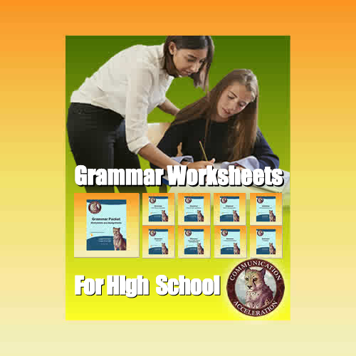 Grammar Worksheets for High School in PDF