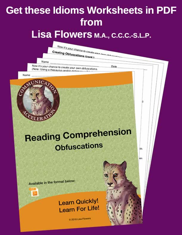 Reading Comprehension – Obfuscations