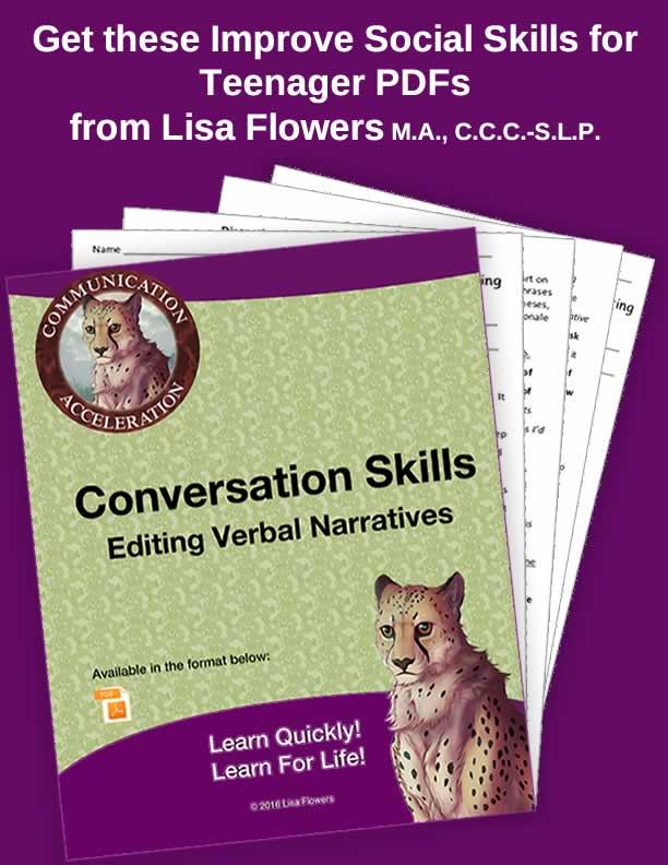 Social Skills: Editing Narratives