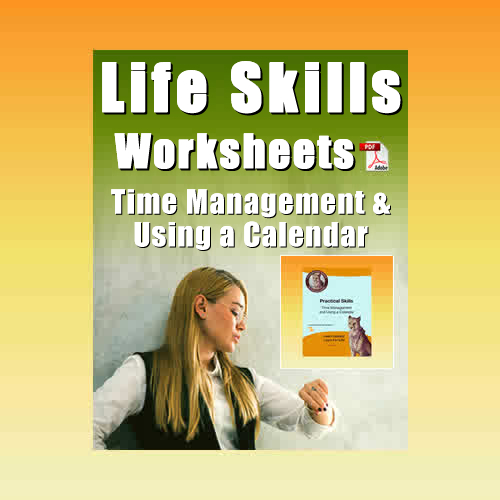 Time Management and Using a Calculator Worksheet