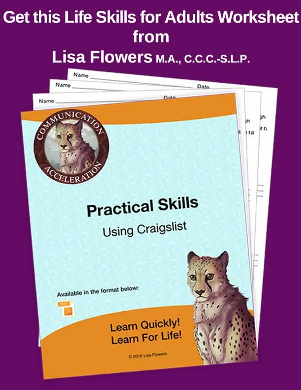 Using Craigslist Worksheet