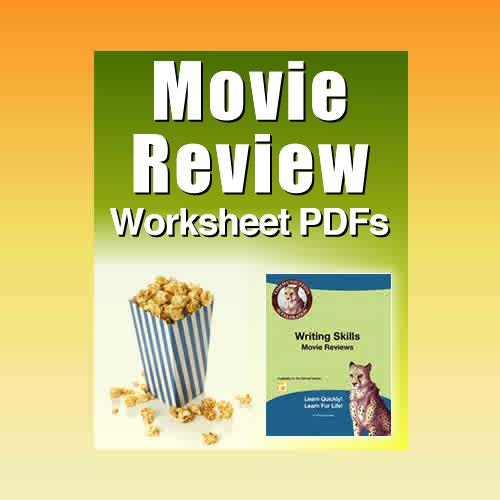 The Movie Reviews Worksheet in PDF