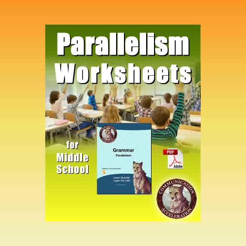 Parallelism Worksheet in PDF