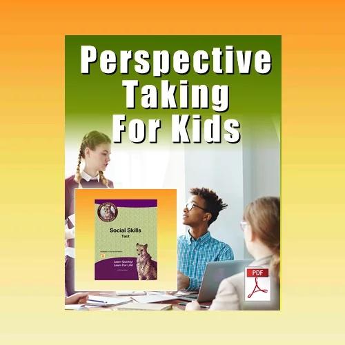 Perspective Taking High School Worksheet