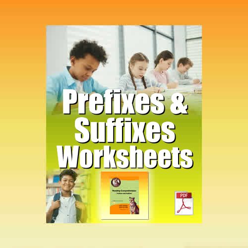 The Prefixes and Suffixes Worksheet in PDF