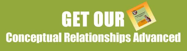Get Reading Comprehension Worksheets: Conceptual Relationships Advanced