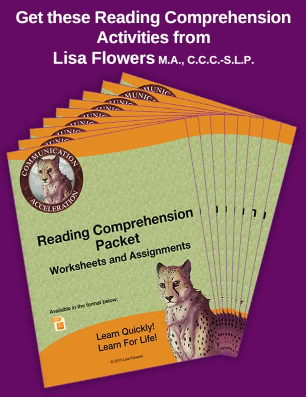 The Reading Comprehension Activities Packet