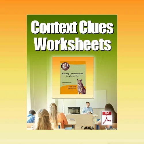 Context Clues Worksheets in PDF