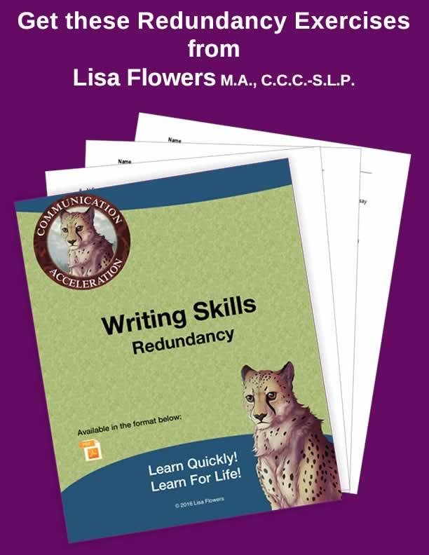 Redundancy Exercises in PDF