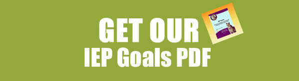 Get Sample IEP Goals and Objectives in PDF