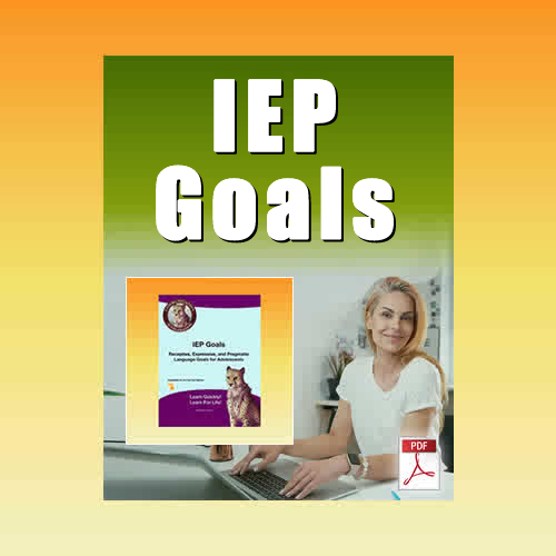 IEP Goals and Objectives PDF