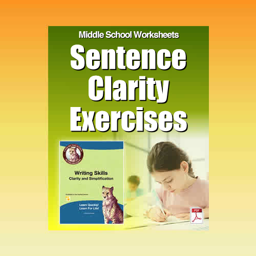 Sentence Clarity Exercises in PDF