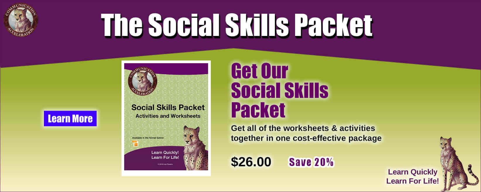 Social Skills Packet
