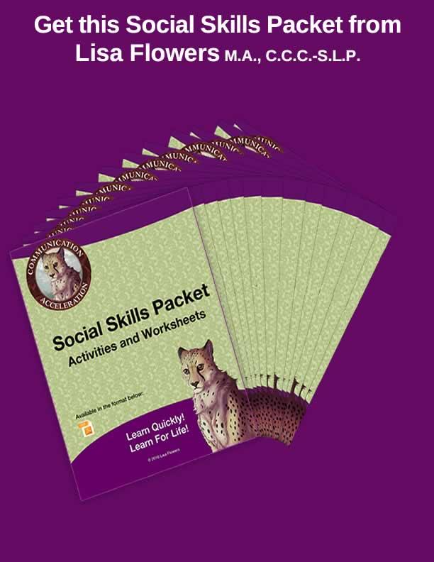 The Social Skills Activities Packet