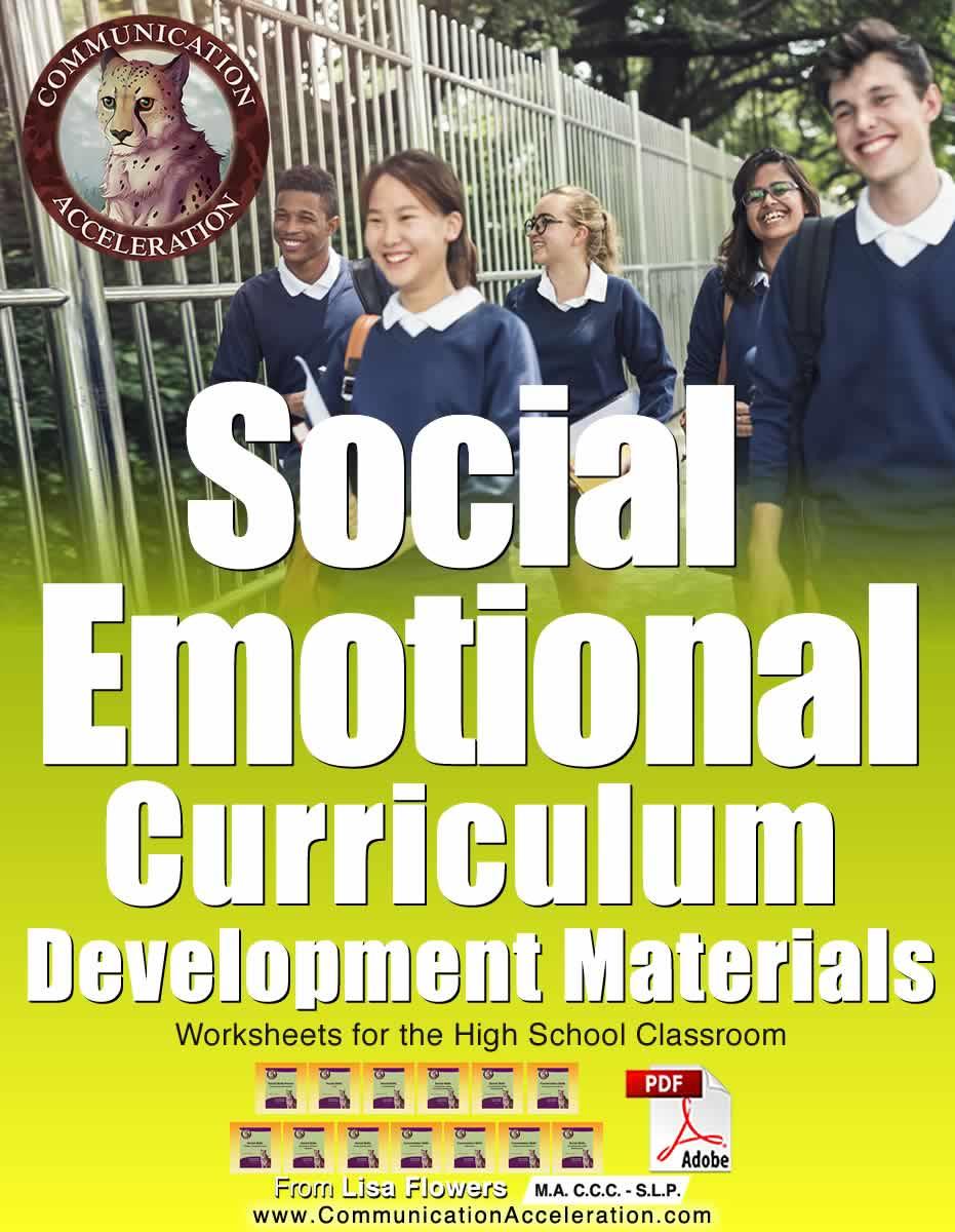 Social Emotional Curriculum Development Process Materials