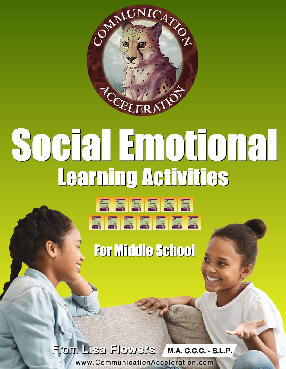 Social Emotional Learning PDFs for Middle School