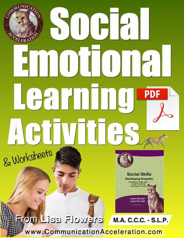 Social Emotional Learning Worksheet PDFs for Kids in High School