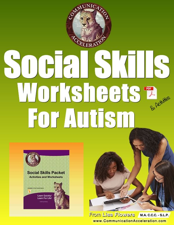 Social Skills Worksheets in PDF