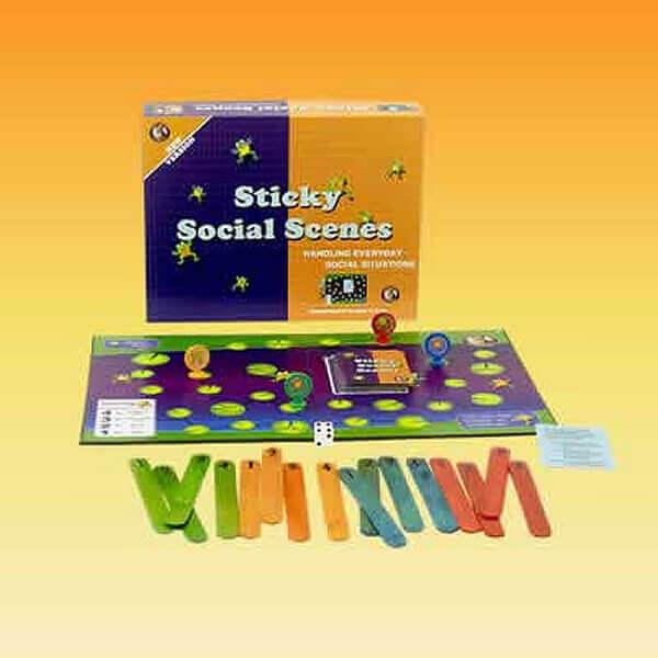Social Skills Game: Sticky Social Scenes