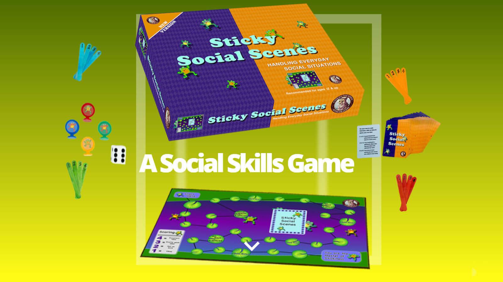 Get Social Skills Game: Sticky Social Scenes