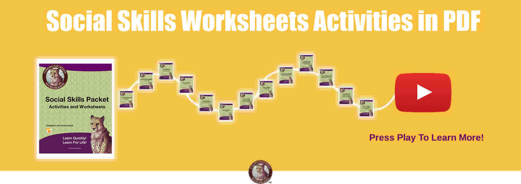 Social Skills Worksheets & Activities in PDF - Click to learn more