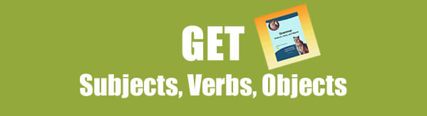 Get Subject, Verb, Object Worksheets in PDF