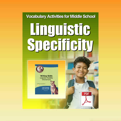 Vocabulary Worksheets for High School Students