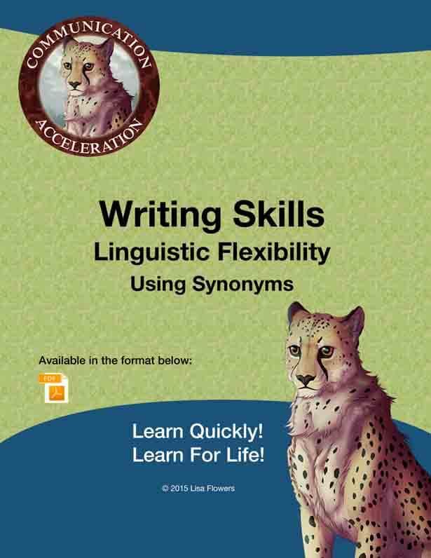 Writing Skills - Linguistic Flexibility - Using Synonyms