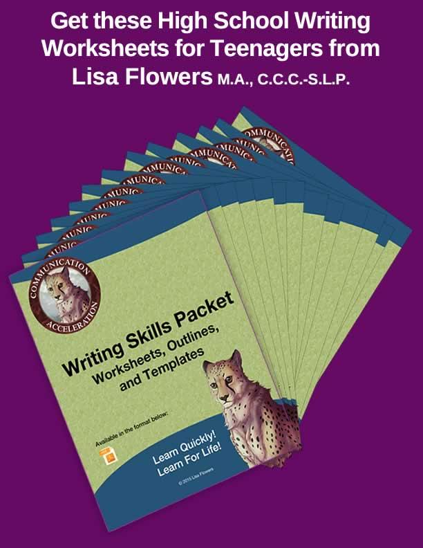 Writing Skills Worksheets Packet PDF